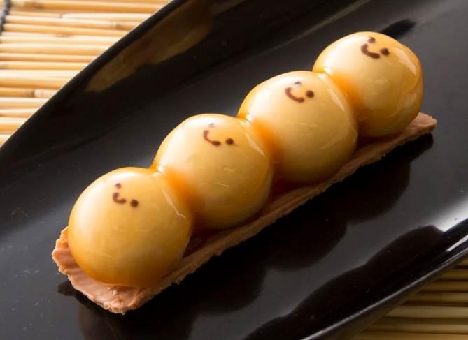 「みたらし(MITARASHI)DANGO」(350日元)