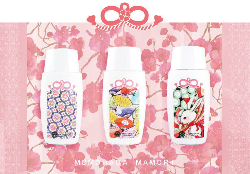 "京都的和風化妝品『kyo·miori』,以""御守""做為主題 新推出防曬粉底「桃肌まもり(桃肌Mamori)」!"