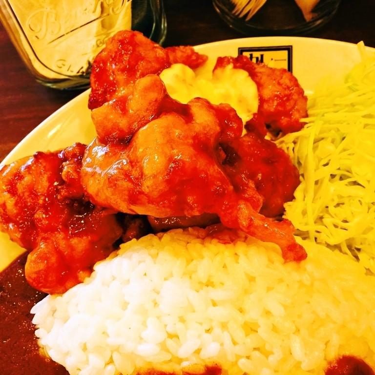 咖哩俱樂部RUU-南蠻炸雞咖哩飯