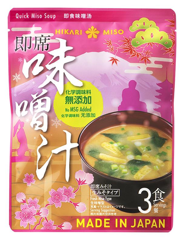「日本的味噌湯」(3份入/價格由零售商決定)