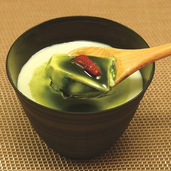 神戶一蘭拉麵-抹茶杏仁豆腐