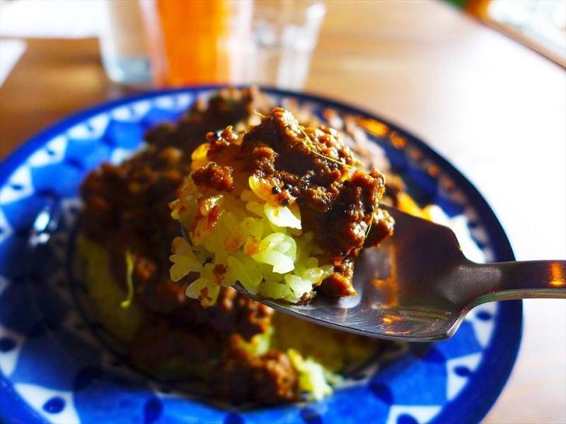 大阪喫茶 駱駝-辣味絞肉咖哩