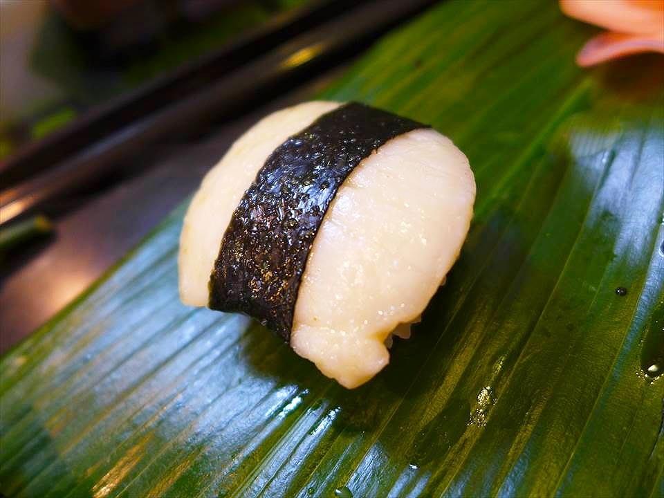 大阪壽司銀-干貝