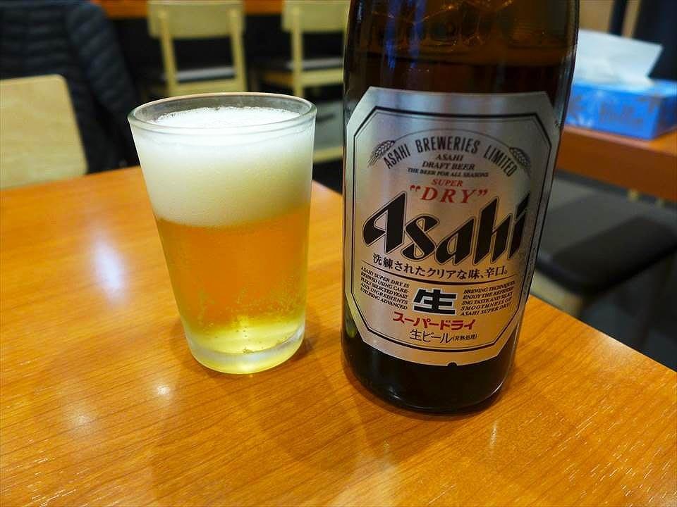 大阪什錦麵來吃吃看亭-啤酒