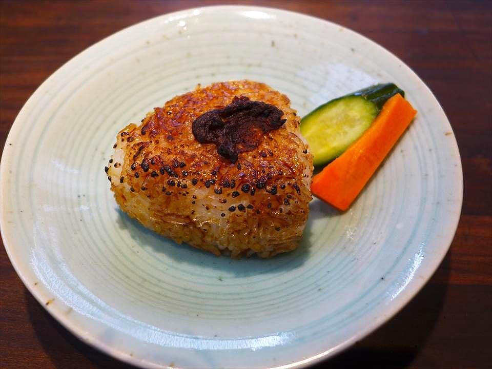 蕎麥斐川-烤飯糰