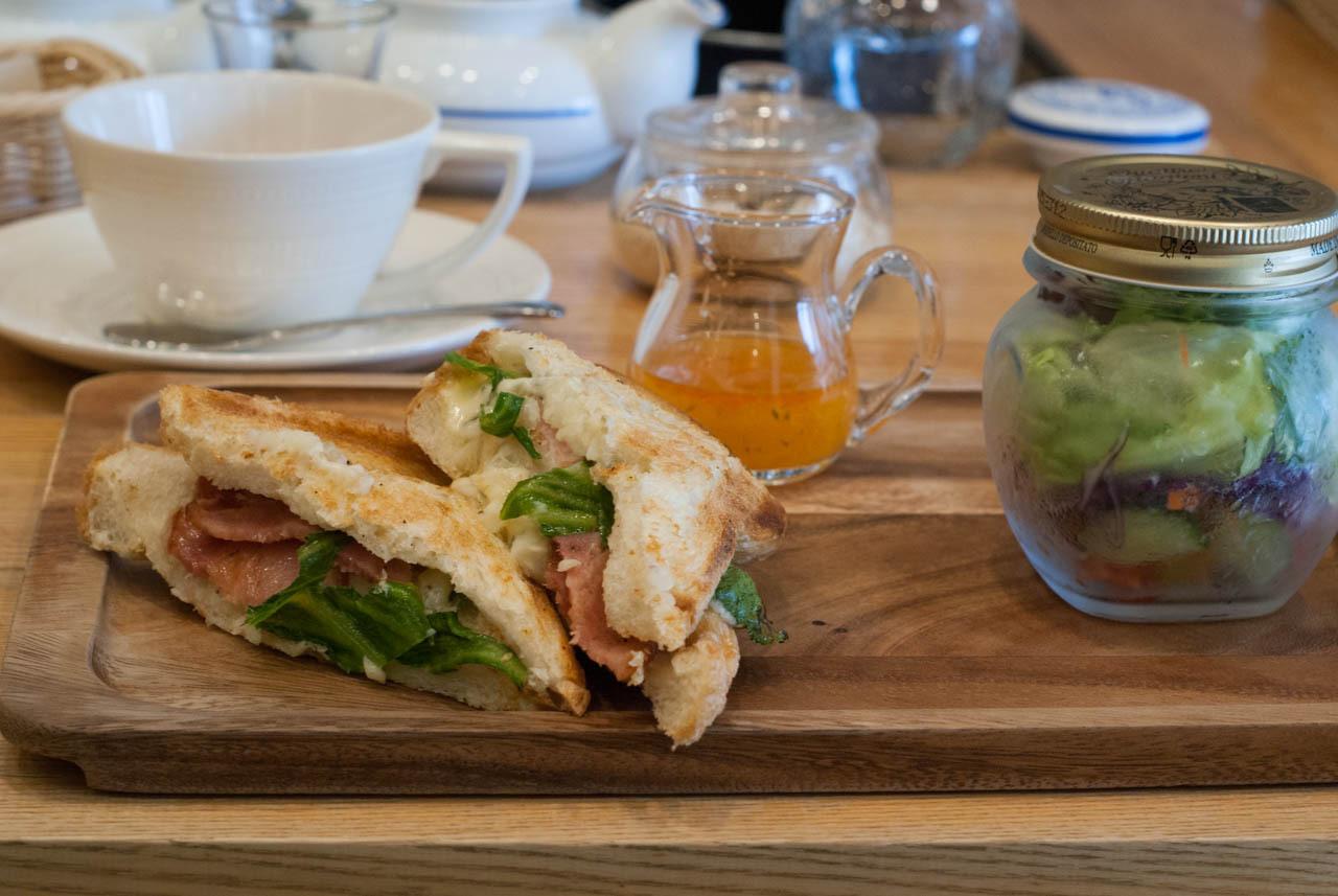 復活的熱三明治!愛茶人的樂園・西天滿『TeeTa』