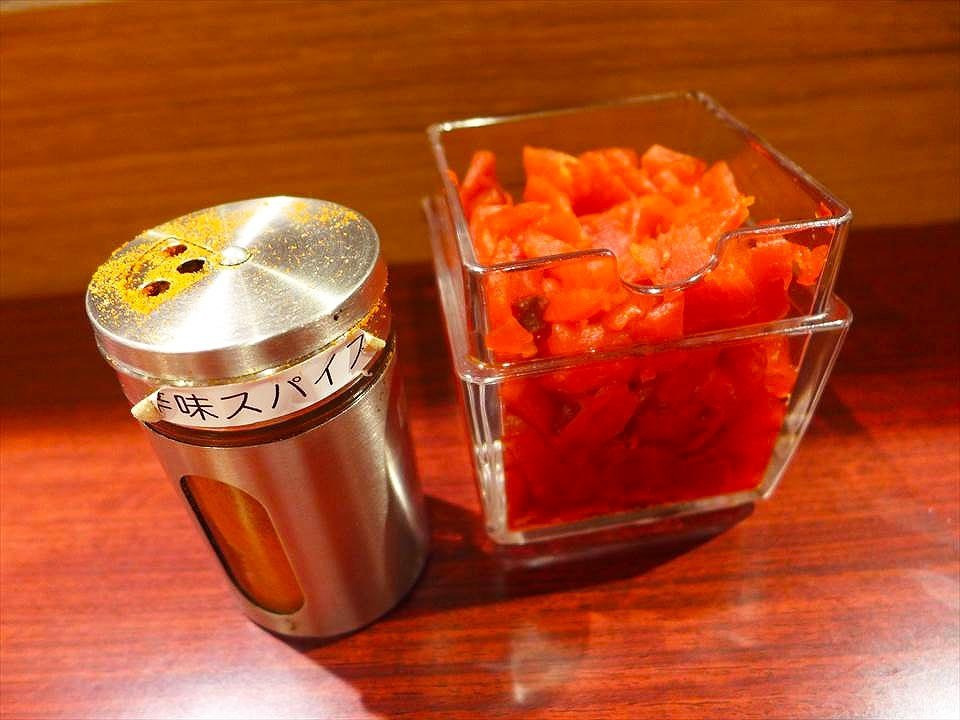 大阪獅子咖哩-配菜