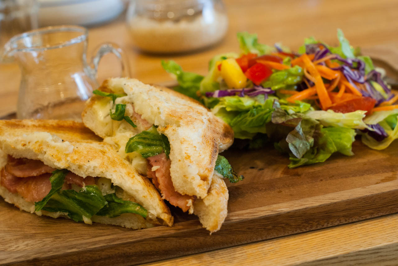 TeeTa-熱三明治套餐