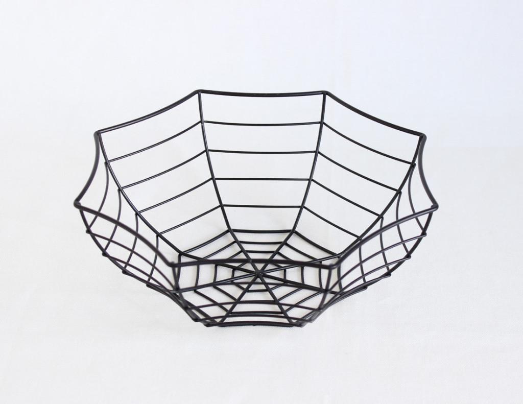 Kitchen Kitchen萬聖節裝飾小物-蜘蛛網籃