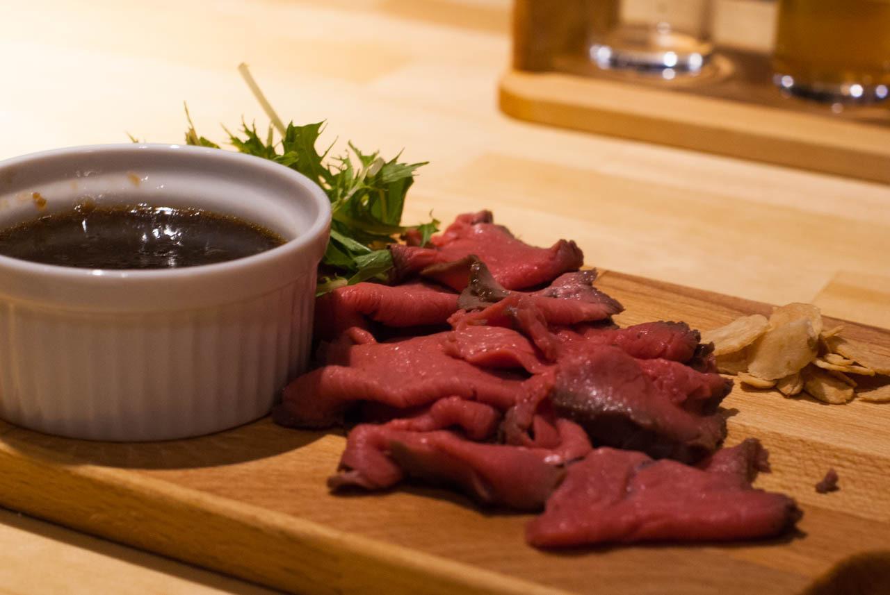 京都啤酒吧ICHI-YA-烤牛肉
