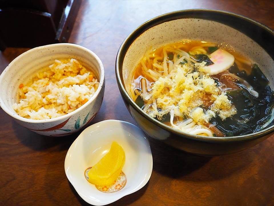 烏龍麵吾妻-菜單-烏龍麵套餐