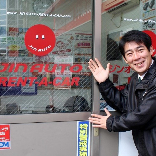 由台灣人服務人員為您服務!『Jin AUTO租車』的租車服務,24小時5,400日圓起!『O-share』限定特惠方案♪