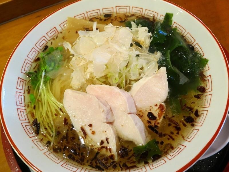 惠美須町的『清麵屋』 第一次的鹽味拉麵!