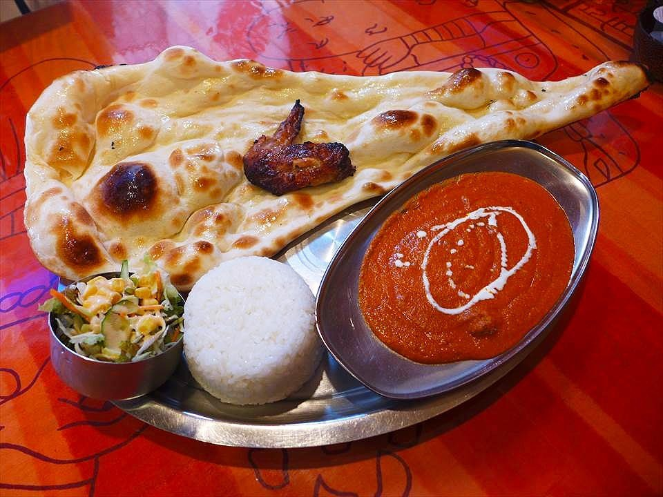 超大的烤饢也超好吃!堺・鳳的印度料理『INDIAN RESTAURANT ANAND』