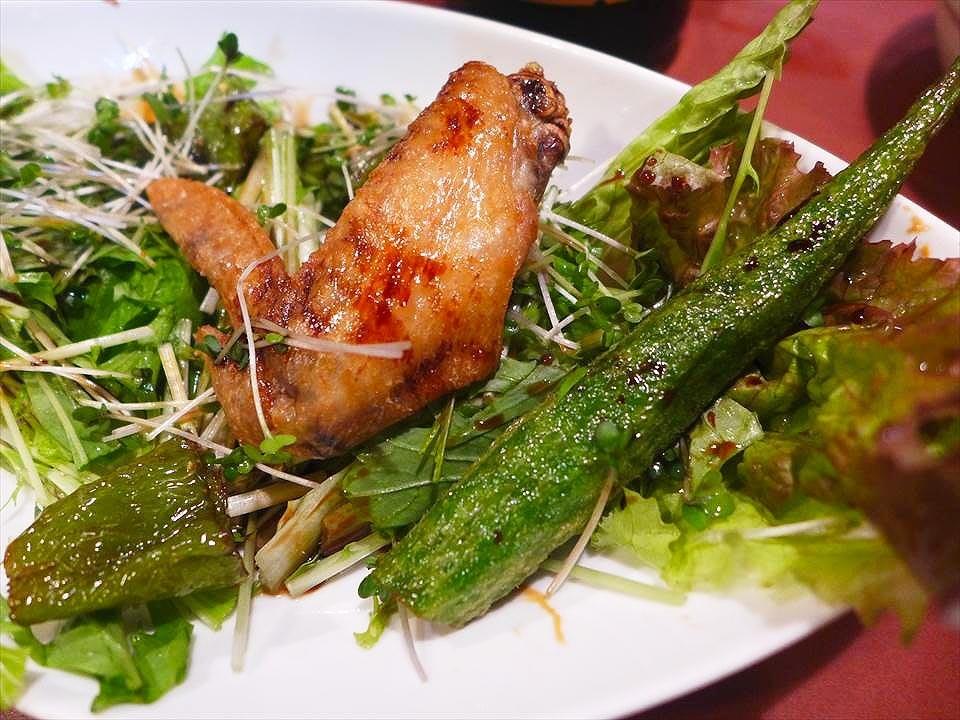 大阪烤雞肉串安喜-雞翅