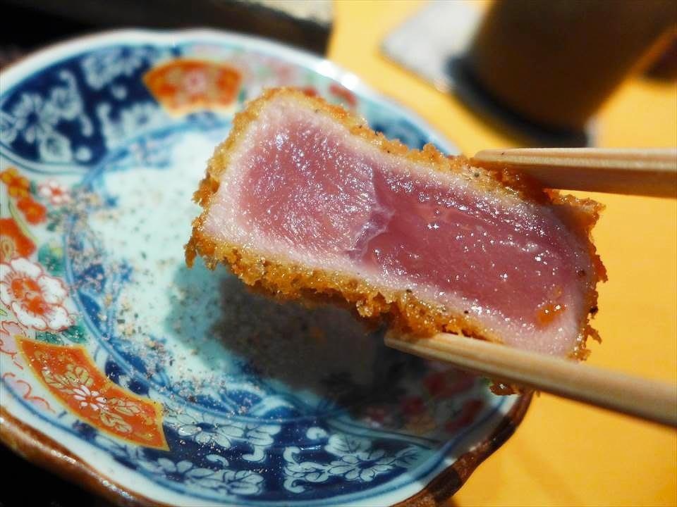 超人氣「鮪魚半熟炸排御膳」! 曾根崎新地『北新地 TAKUMI(北新地 たくみ)』的限量午餐