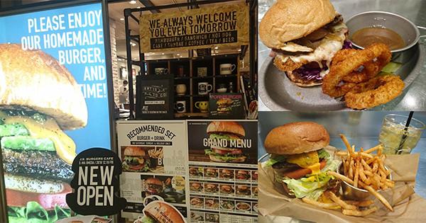 在東京造成話題的漢堡店進軍大阪! 梅田『J.S BURGERS CAFE梅田店』