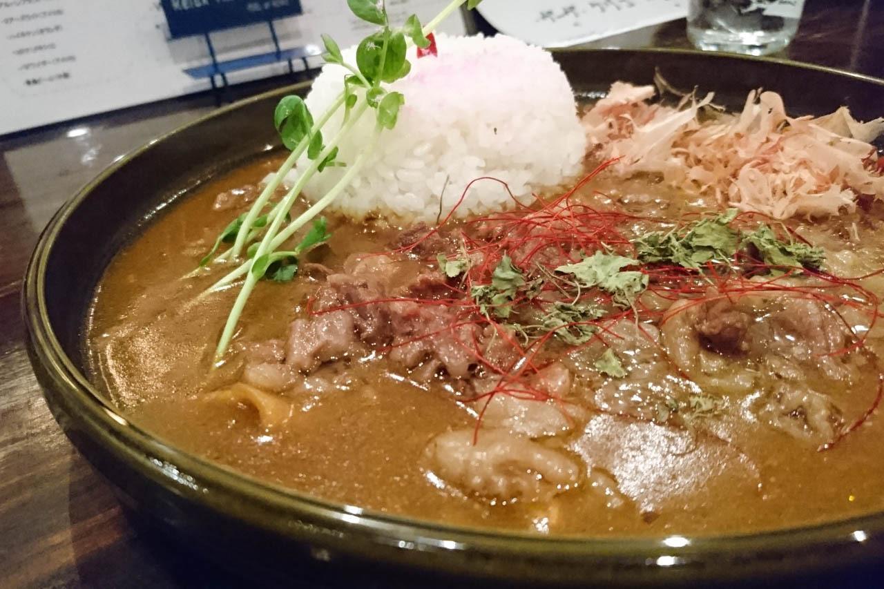 絕品和風咖哩! 中崎町『Zipangu Curry Cafe 和風咖哩HiGE BozZ』