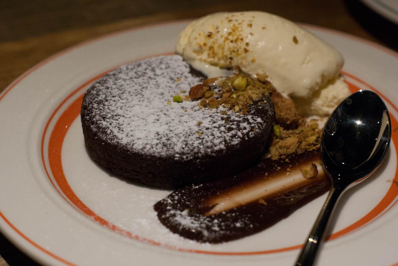 熔岩巧克力蛋糕(フォンダンショコラ)
