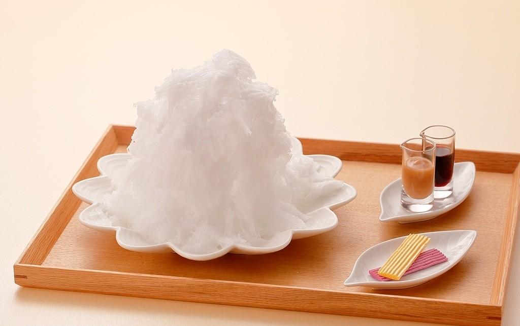 【已結束】重現了栗子雪山!『MALEBRANCHE』才吃得到的夏季甜點!天然冰「白色栗子雪山刨冰」6/1(四)~9月上旬期間限定新登場