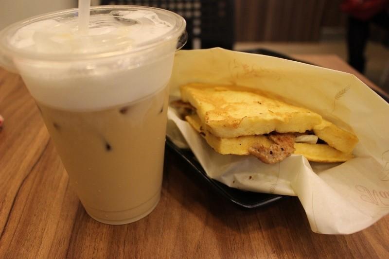 Mr.Lin's sandwich