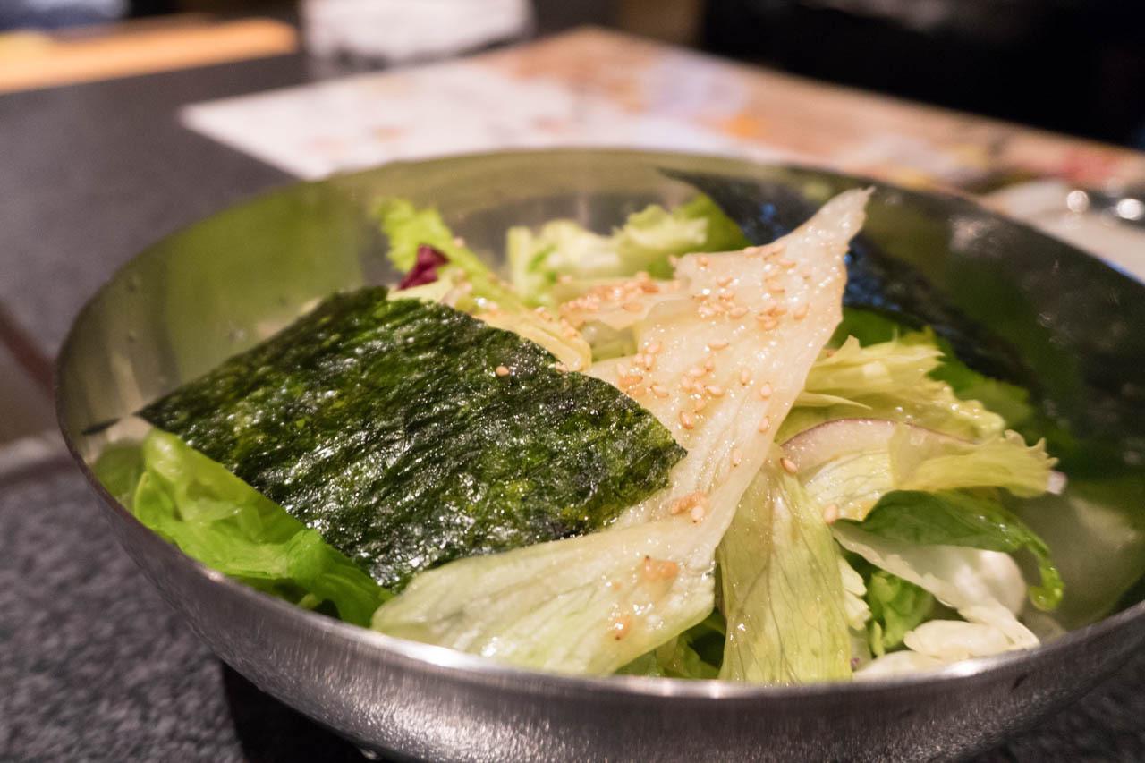 大阪近江牛燒肉AFUMI亭-沙拉