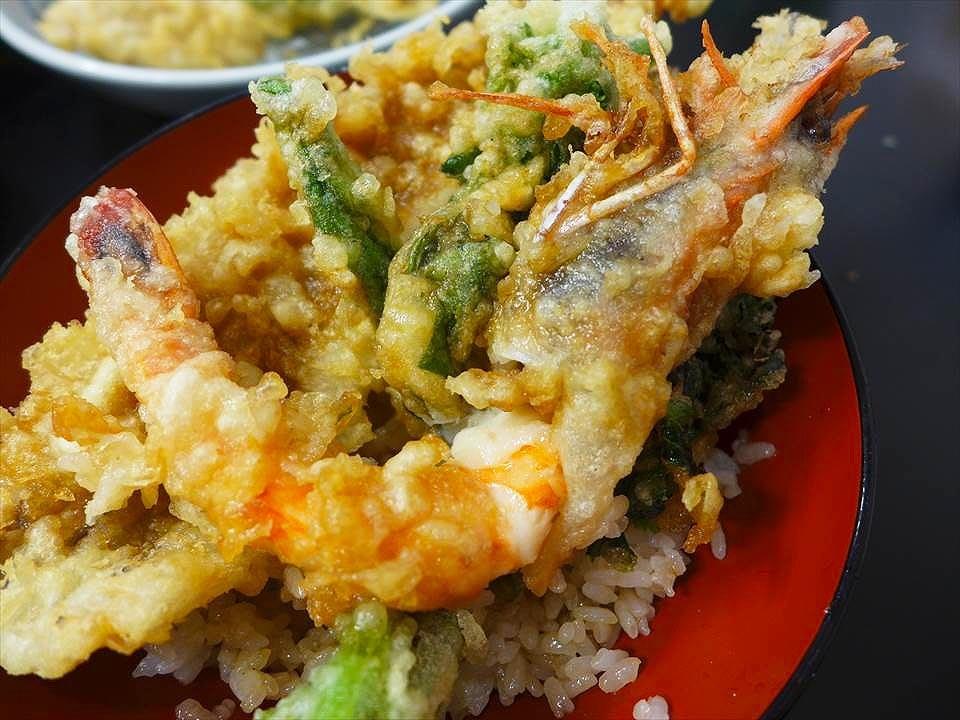 炸蝦天婦羅飯