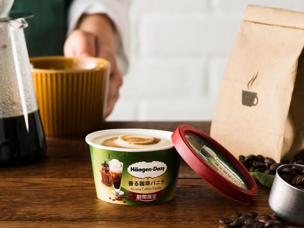 【已結束】重現了現沖咖啡的香味和苦味的「哈根達斯 迷你杯 香醇咖啡香草(期間限定)」、7/11新發售!