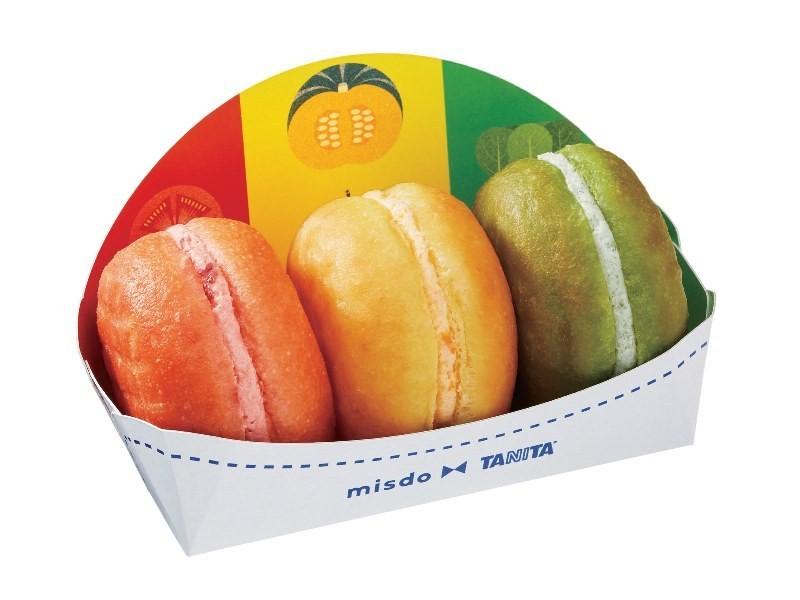 8/25(五)起期間限定販賣!『MisterDonut』與『株式會社TANITA』共同合作開發的繽紛蔬菜甜甜圈「VegePoP(ベジポップ)」