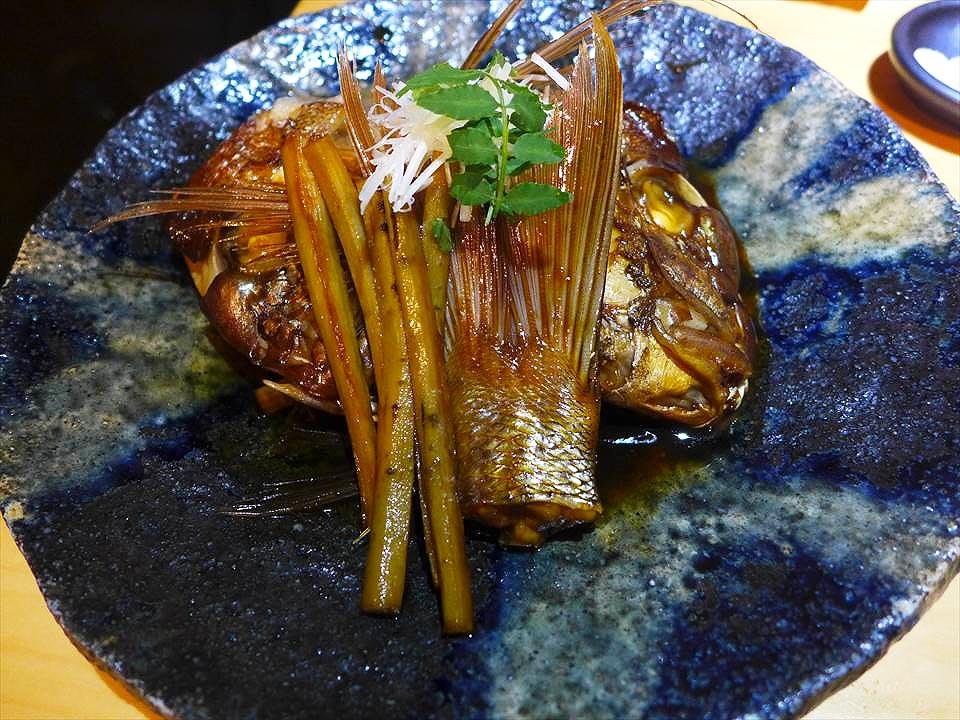 醬燒鯛魚頭