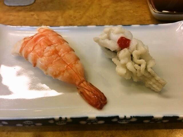 天神橋筋商店街的名店『奴壽司總本店』享用划算的現作手捏壽司!