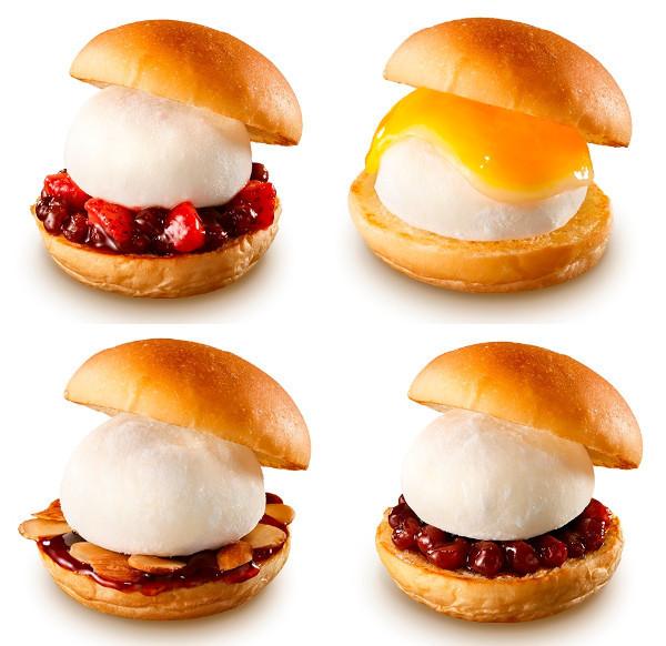 【已結束】只有現在!『LOTTE』×『LOTTERIA』合作推出新款商品「雪見大福甜點」,期間限定新上市