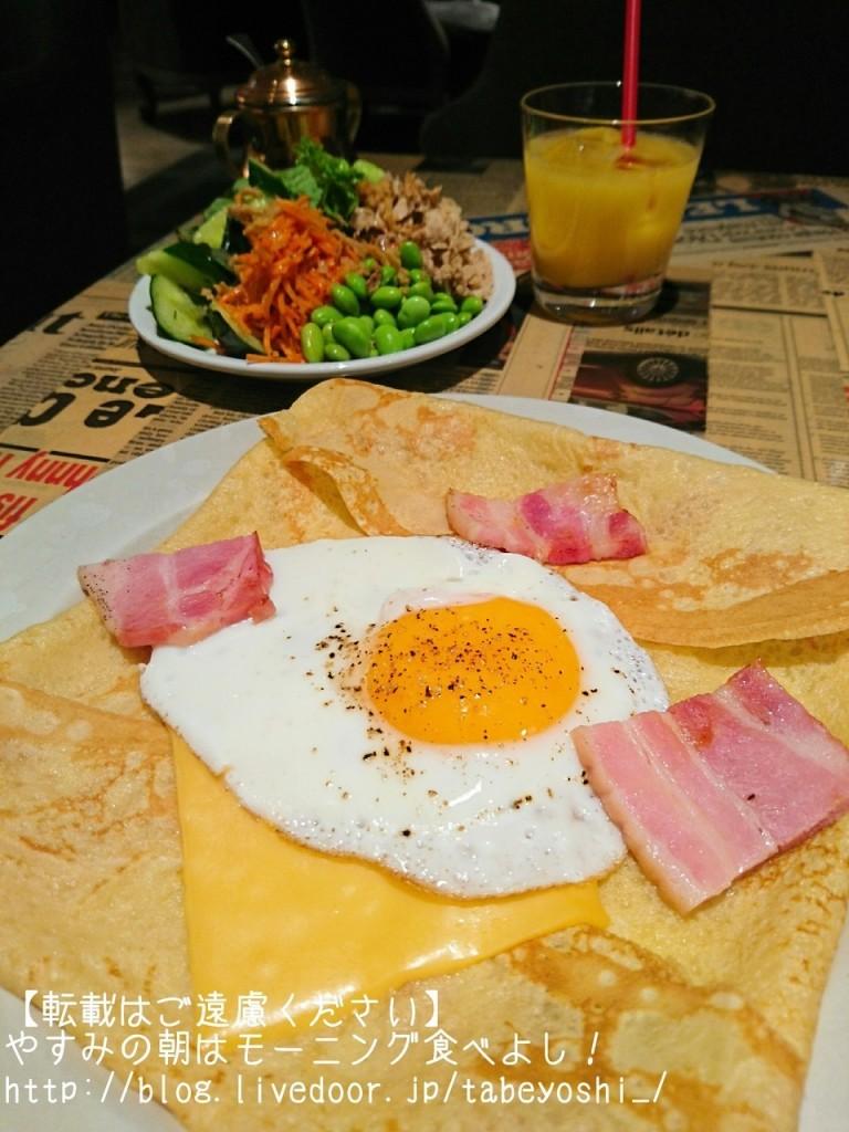TABLES CAFE可麗餅沙拉吧早餐
