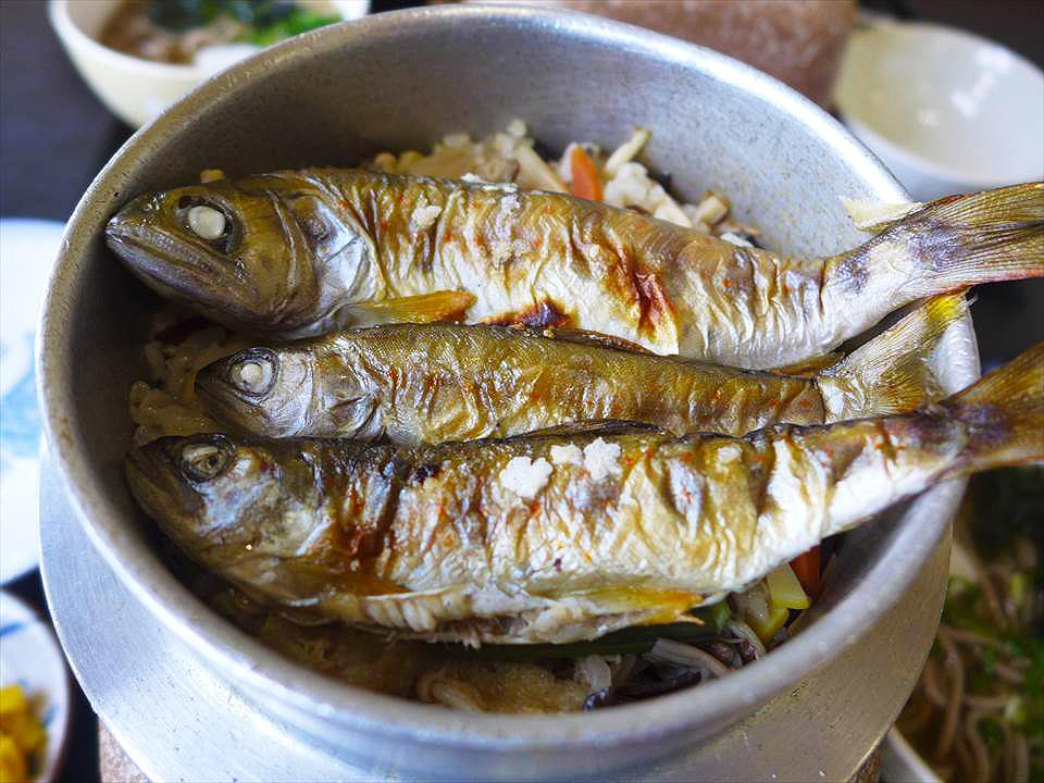 和歌山麵屋 喜幸-溪魚釜飯