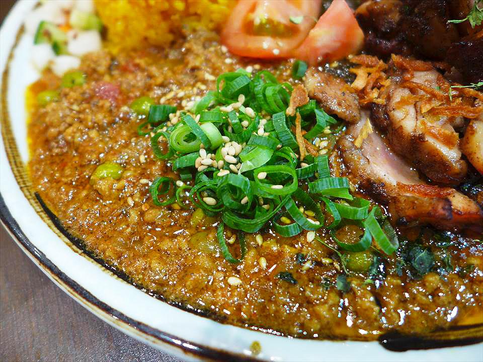 Khaos Spice Dinner-絞肉咖哩