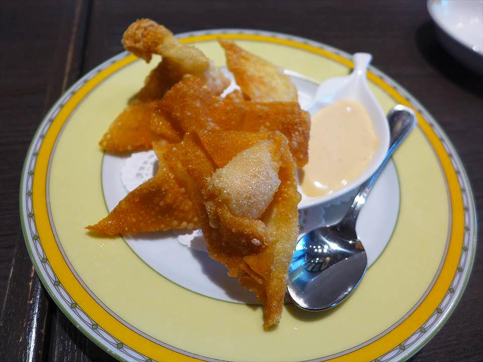 大阪港式餐廳銀座Aster 麵點廳-炸餛飩
