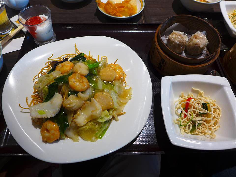 大阪港式餐廳銀座Aster 麵點廳-炒麵套餐