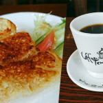 cafe-temple杏仁奶油吐司早餐