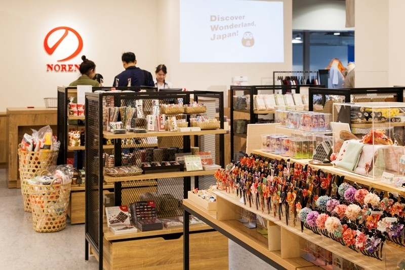 關西國際機場第2航廈唯一的正統和風雜貨店登場!傳遞給你日本文化・魅力的嚴選商店『のレン(NOREN) 關西國際機場T2店』