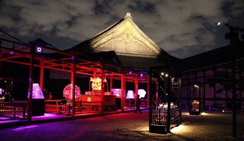 【已結束】宣傳大使上戸彩:「希望有更多的外國人來參觀」!「紀念大政奉還150周年 Art Aquarium城 ~京都・金魚之舞~」於二条城開幕!