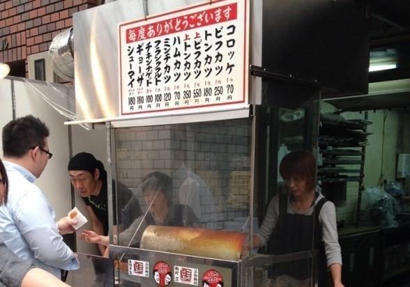 1個70日圓,是我心目中的No.1!位於南森町總是大排長龍的可樂餅店『中村屋』