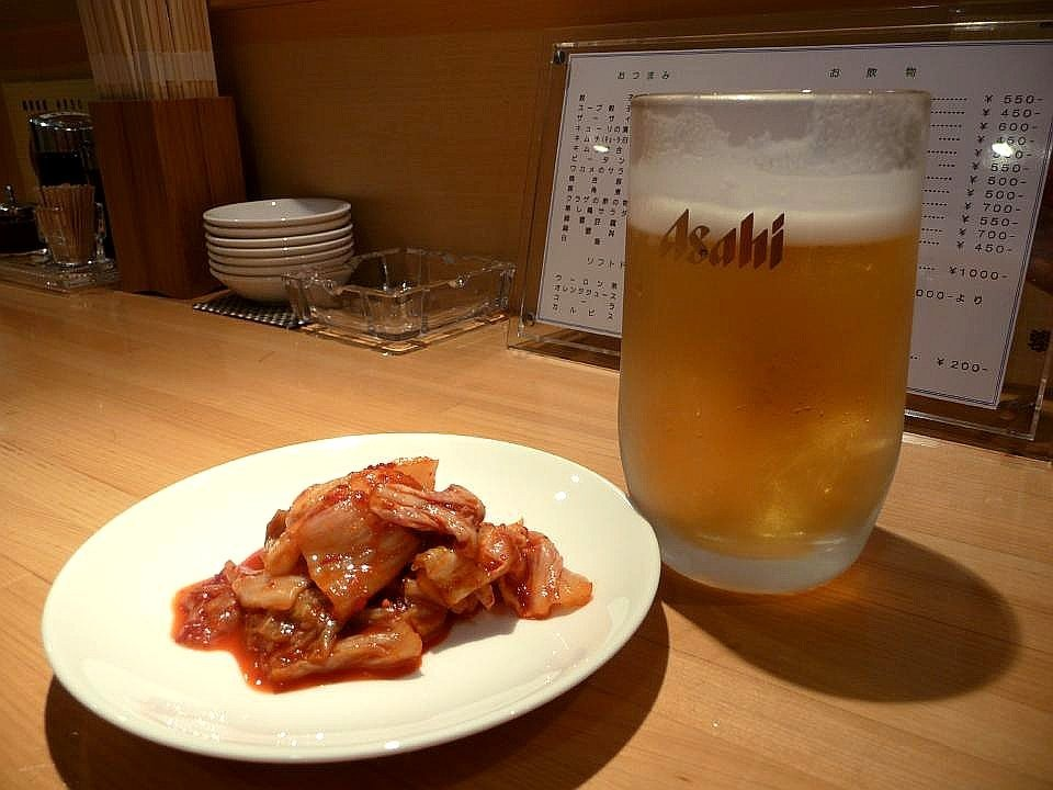 韓式泡菜啤酒