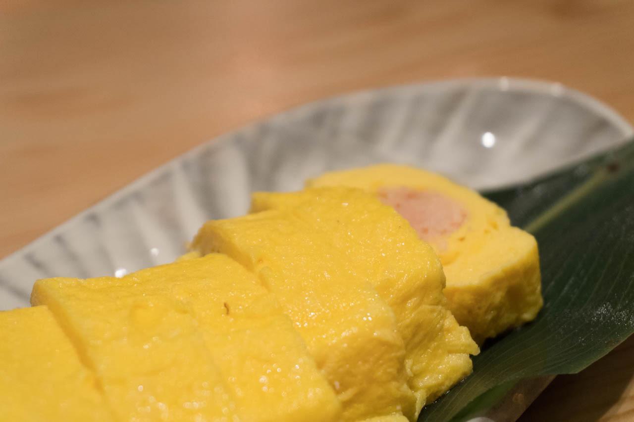 明太子高湯煎蛋捲