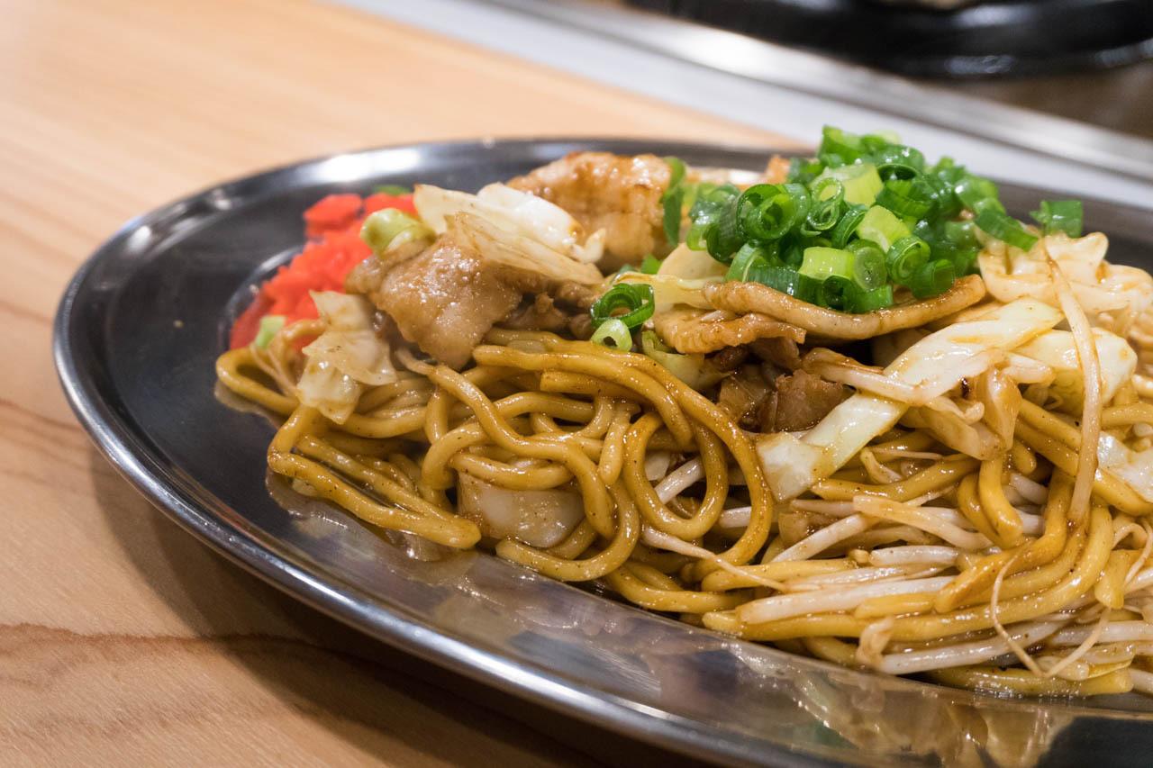 尼崎日式炒麵中心-豬肉炒麵