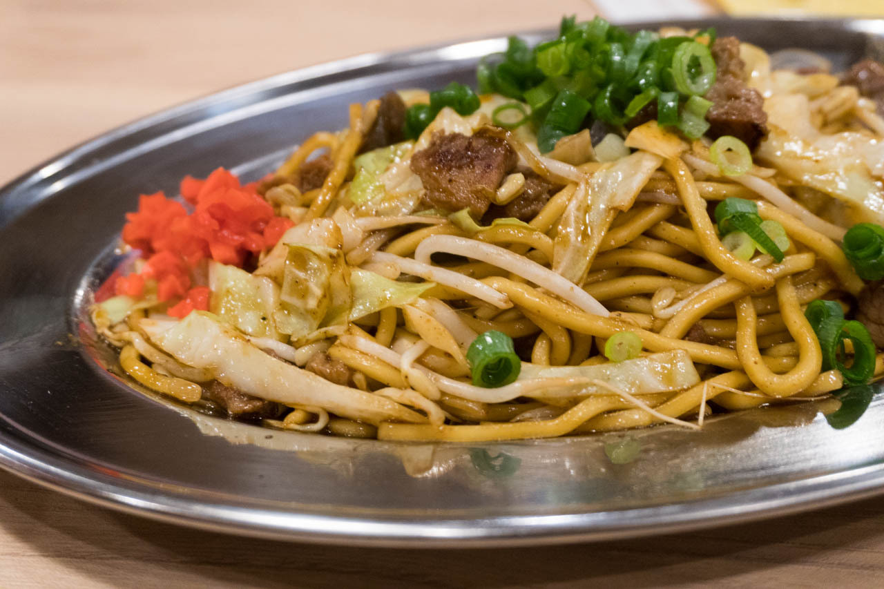 尼崎日式炒麵中心-牛筋炒麵
