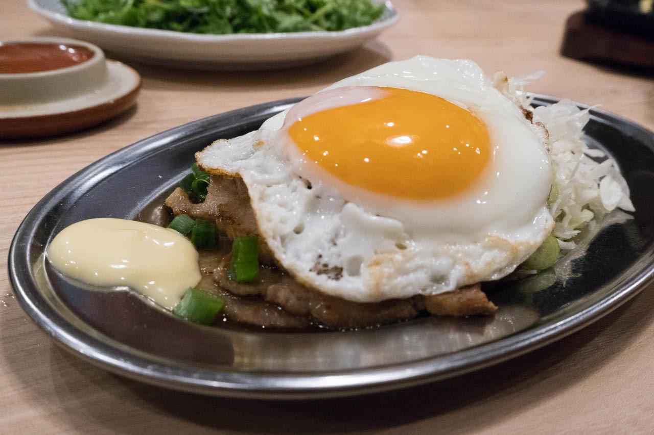 尼崎日式炒麵中心-豬肉煎蛋