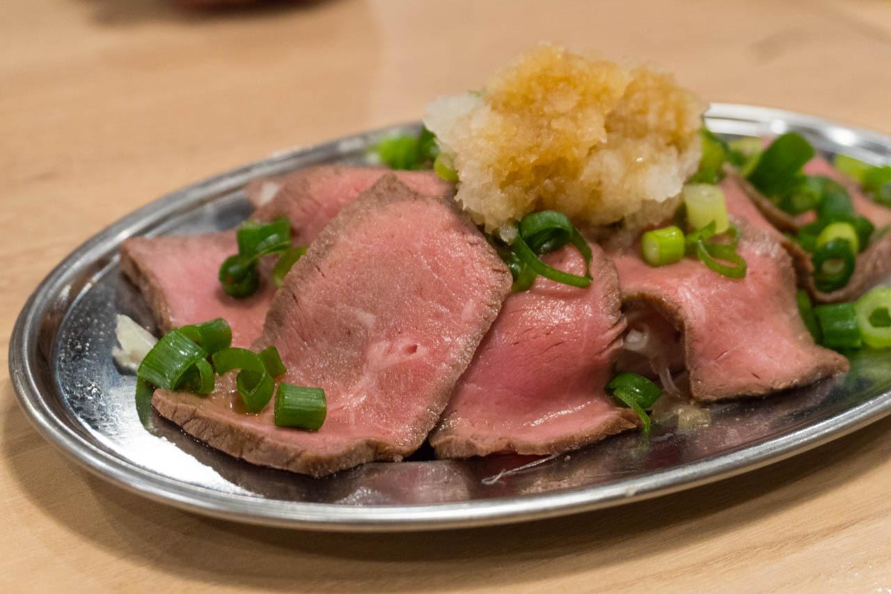尼崎日式炒麵中心-火烤牛肉