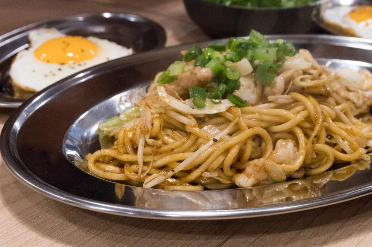 尼崎日式炒麵中心-牛內臟味噌炒麵