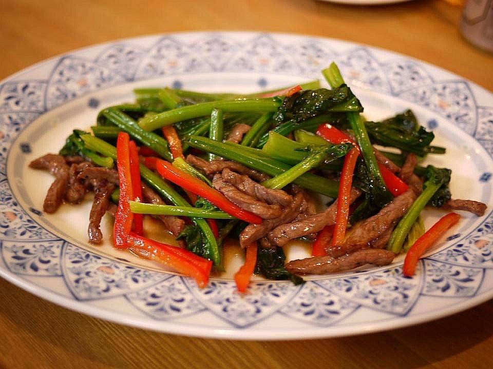 大阪中國家庭料理 溢彩流香-炒牛肉