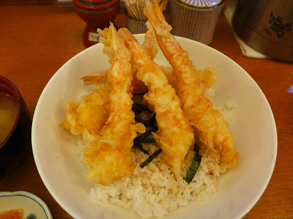 日式炸蝦天丼